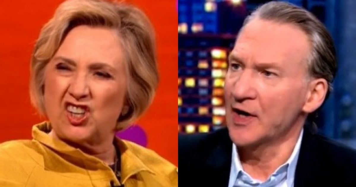Photo of Bill Maher Throws Hillary Under The Bus
