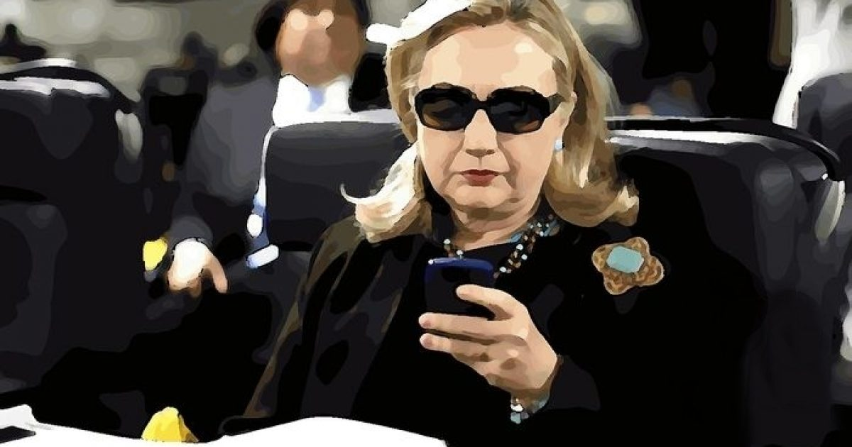 Photo of Bombshell: Former Secretary of State for Diplomatic Security Under Oath, 'I Warned Hillary Twice About Her Unsecure Blackberrys & Personal Emails'