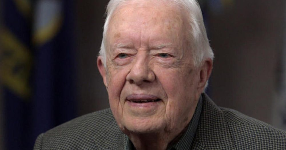 Photo of Jimmy Carter says Trump is an illegitimate president