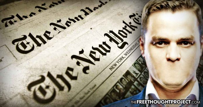Photo of Free Press? NY Times Admits It Sends Stories To US Govt For Approval Before Publication