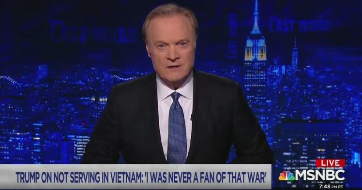 Photo of Video: MSNBC propagandist Lawrence O'Donnell suggests Trump's father a Nazi sympathizer — On D-Day
