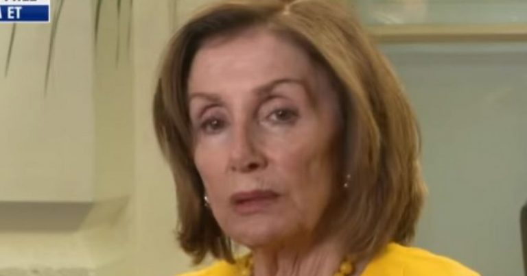 Nancy Pelosi Calls Upon Religious Leaders To Declare a Holy War on President Trump