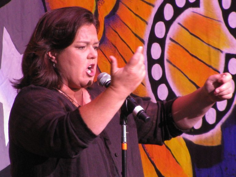 "She's delusional! Rosie O'Donnell claims the Trump administration is running ""over 100,000 concentration camps"" in the U.S."