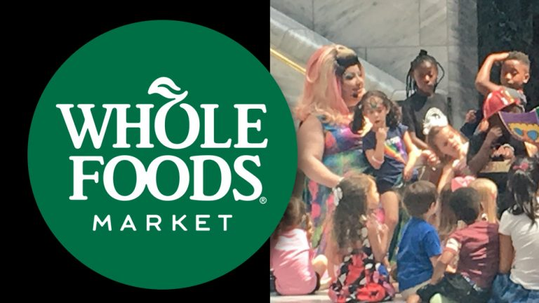 Whole Foods sponsors Drag Queen Story Hour to indoctrinate children