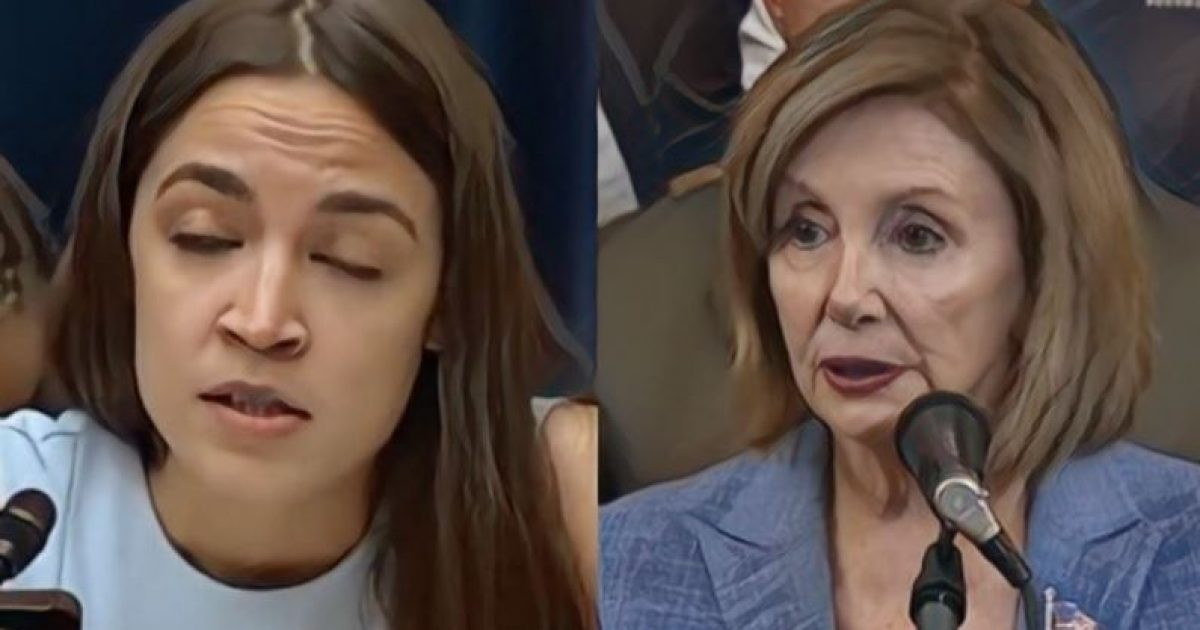 """Photo of AOC Backed Into Corner — Top Dems Call Her """"A Loser"""", """"A Nobody"""" And """"Complete Fraud"""""""