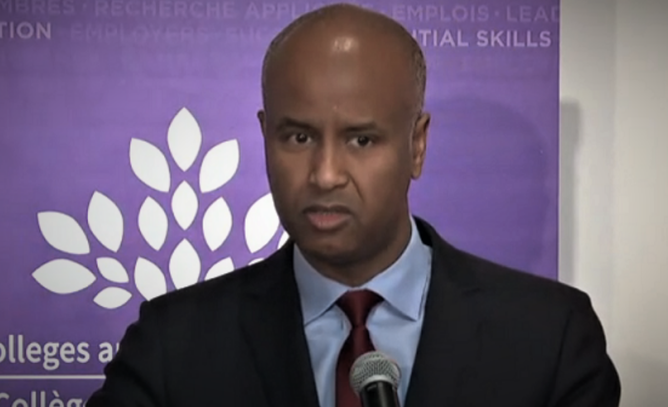 "Photo of Canada Minister of Immigration Ahmed Hussen Calls For ""Higher Refugee Numbers"" while Canadians Are Saying ""NO"""