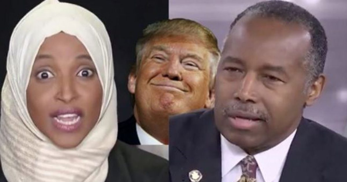Photo of Omar Smears Trump Then Ben Carson Steps In and Embarrasses Her