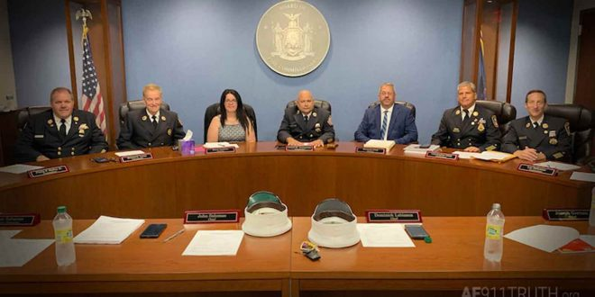 """Photo of New York Fire Commissioners Call For New 9/11 Investigation: """"Overwhelming Evidence Of Explosives"""""""
