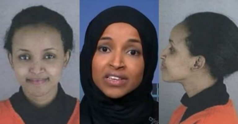 Want to See Record of Ilhan Omar's Arrest? Here it is…