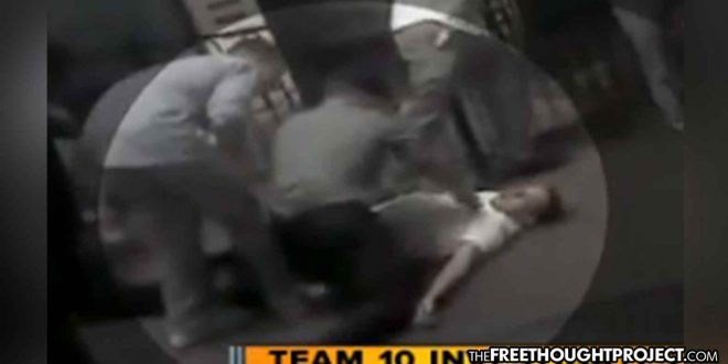 Photo of WATCH: Cops Assault and Arrest Two Marines for Giving First Aid to an Unconscious Man