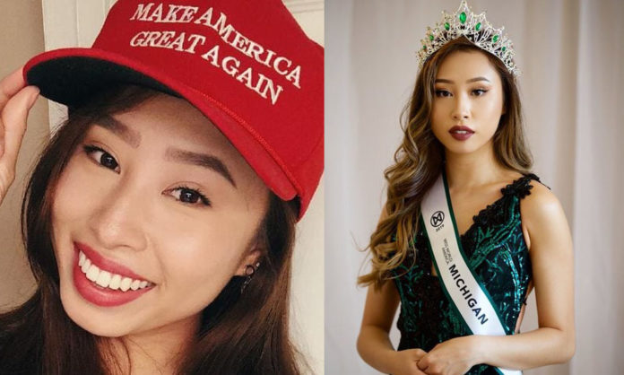 Photo of Miss Michigan Supports Trump, Refuses to Try on Hijab, GETS STRIPPED OF HER TITLE
