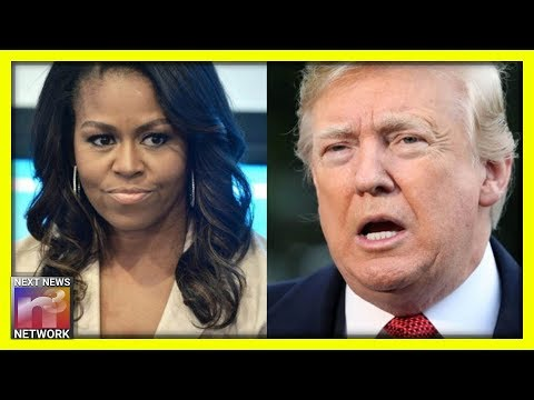 Photo of Michelle Obama EMERGES FROM THE SHADOWS, Smears Trump In Racist Rant