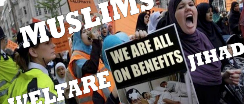 Photo of '80% of the Muslims in the West are Unemployed Beggars'