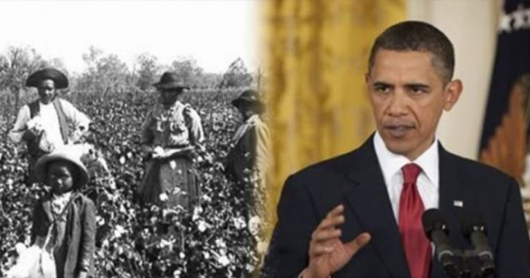 FUN FACT: Obama's Family Owned SLAVES…