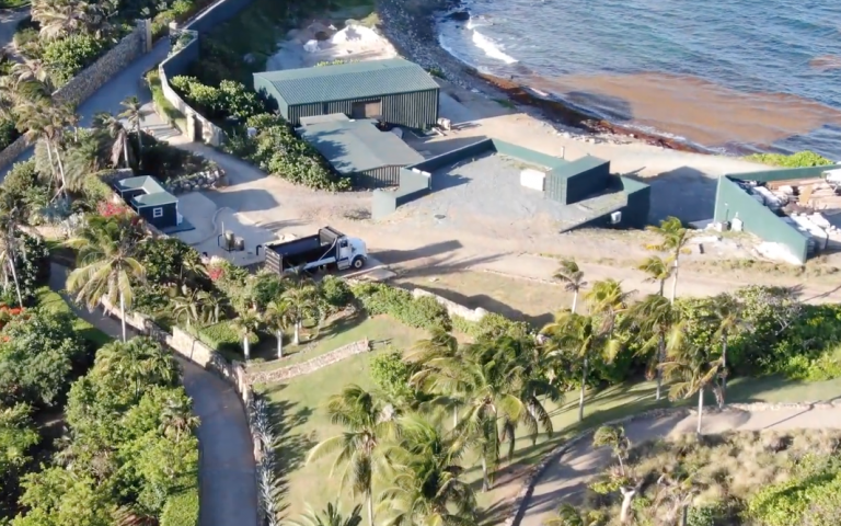 """Must watch: Drone captured video footage of Epstein's """"Orgy Island"""" reveals underground structures, buildings"""