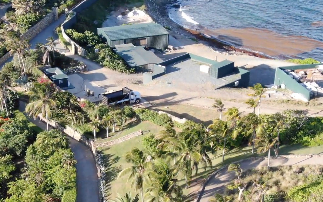 "Photo of Must watch: Drone captured video footage of Epstein's ""Orgy Island"" reveals underground structures, buildings"