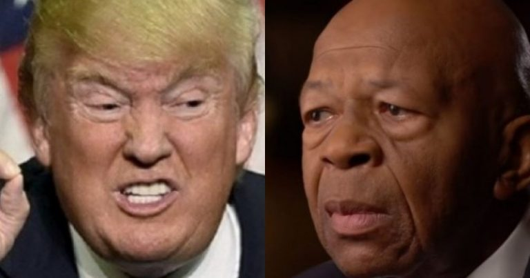 Elijah Cummings Tried to Take Out Trump & Failed, Now Trump is Going for the Jugular