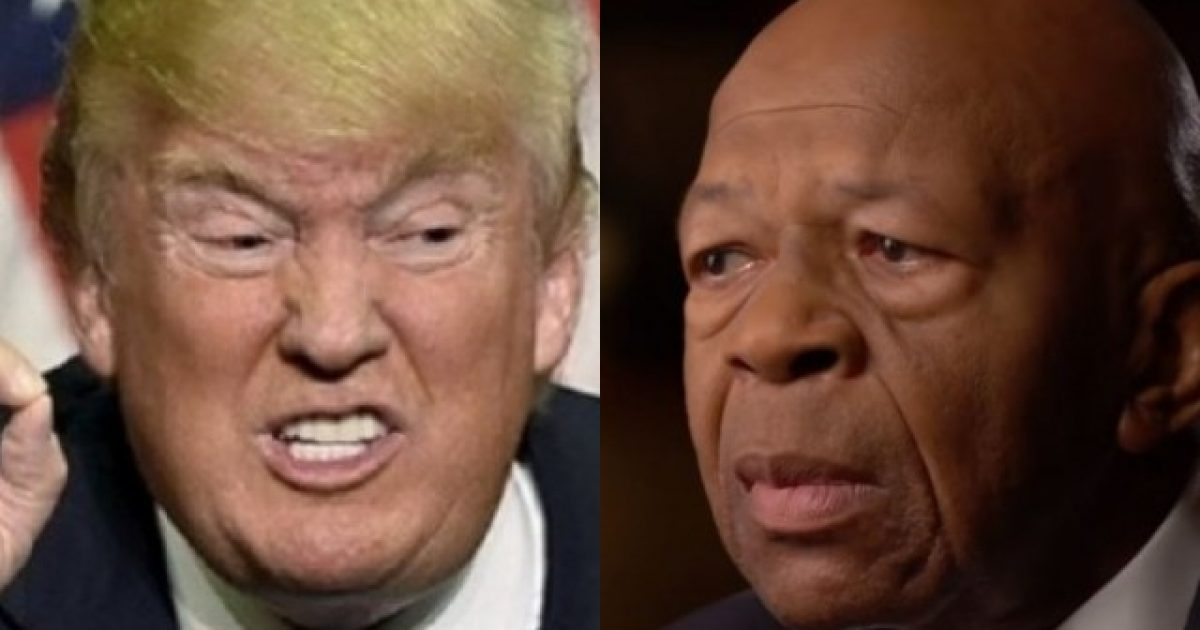 Photo of Elijah Cummings Tried to Take Out Trump & Failed, Now Trump is Going for the Jugular