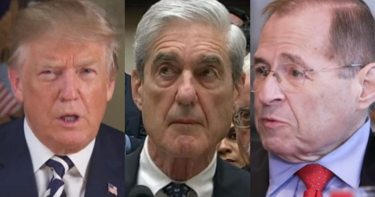 Photo of Nadler Loses It, Fabricates Complete Lie About Mueller to Continue Trump Impeachment Talks