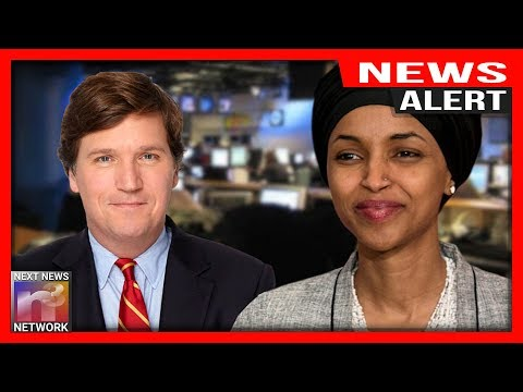 Photo of ALERT: IT'S ON! Ilhan Omar Picks Fight With Tucker Carlson!