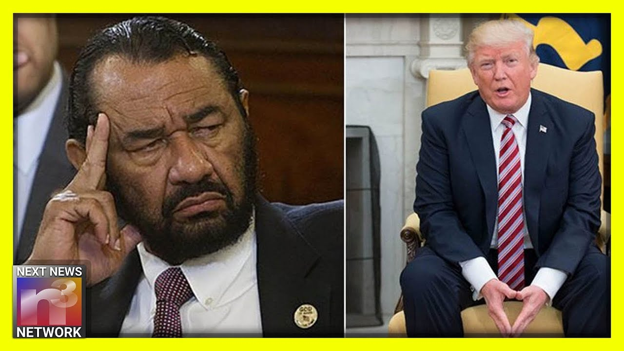 Photo of Rep Al Green declares there is 'no limit' to the number of times we will try to impeach Trump