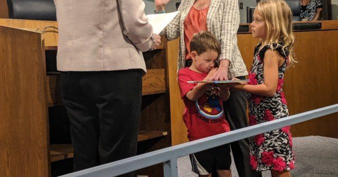 Photo of Missouri Democrat Council Member Sworn In On Dr. Seuss Book Instead Of Bible