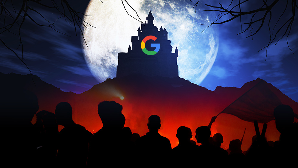 """Photo of BOMBSHELL: Google insider """"I saw something dark and nefarious going on"""" inside tech giant's plans to """"overthrow the United States"""""""