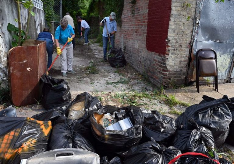 Baltimore Sun Attacks White Trump Supporters Who Cleaned Up The City