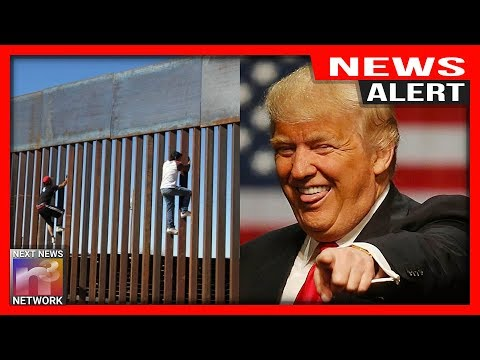 Photo of BUSTED!!! After Trying To Scale Trump's New Wall These Illegals Faced Their WORST NIGHTMARE!