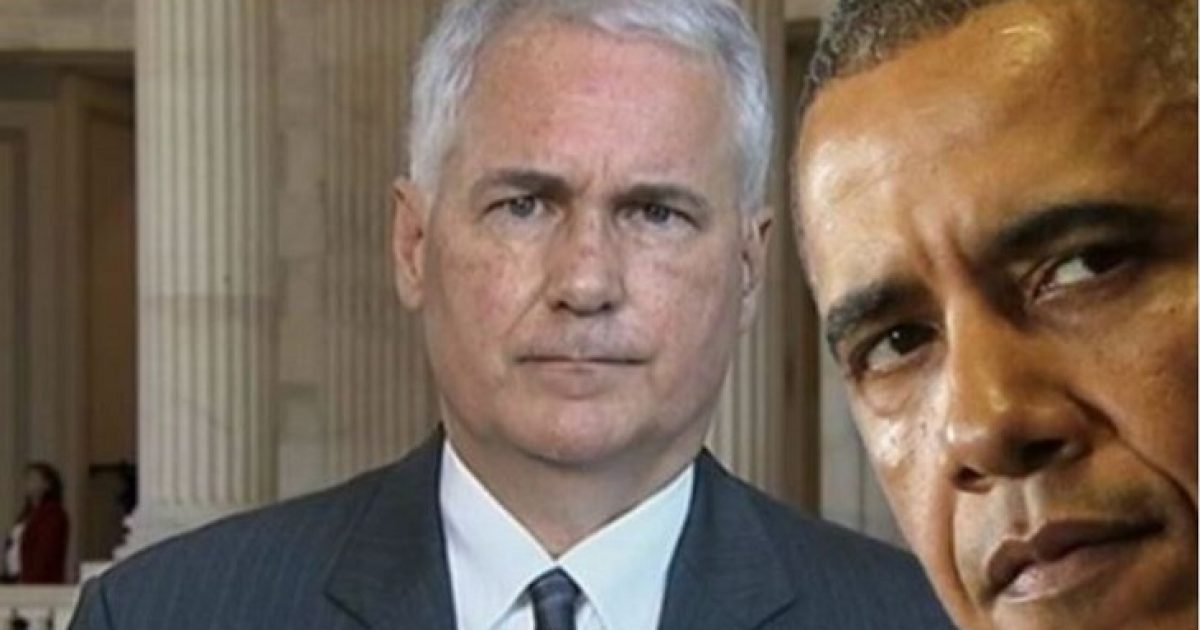 """Photo of Congressman Warns Obama: """"The Other Shoe That's About To Drop"""" on YOUR White House"""