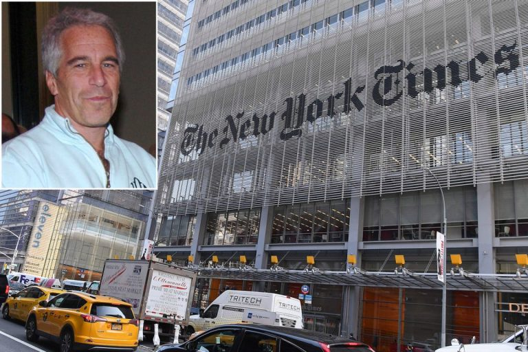 The New York Times' Ties To Jeffrey Epstein