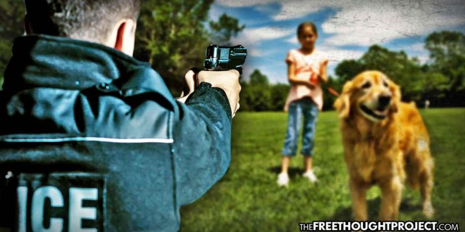 Innocent Father and Daughter Held at Gunpoint on Knees as Cops Shot Their Dogs—Lawsuit