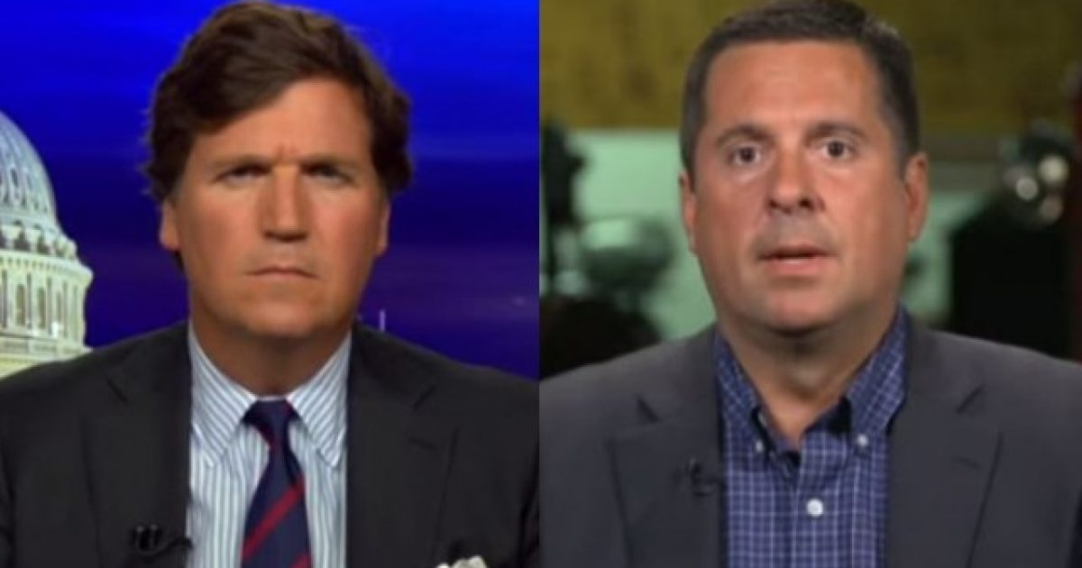 Photo of Watch Nunes Drop a Comey Bombshell on Tucker Carlson