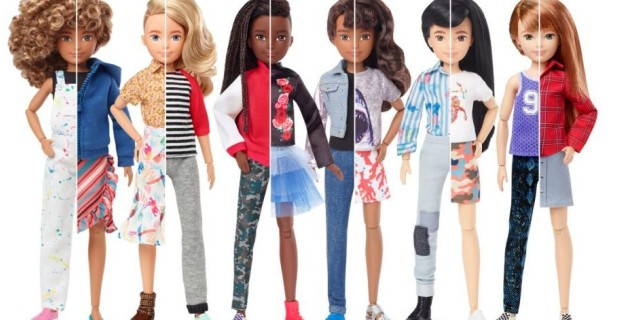 "Photo of Mattel Launches New Line of ""Gender Neutral"" Dolls"