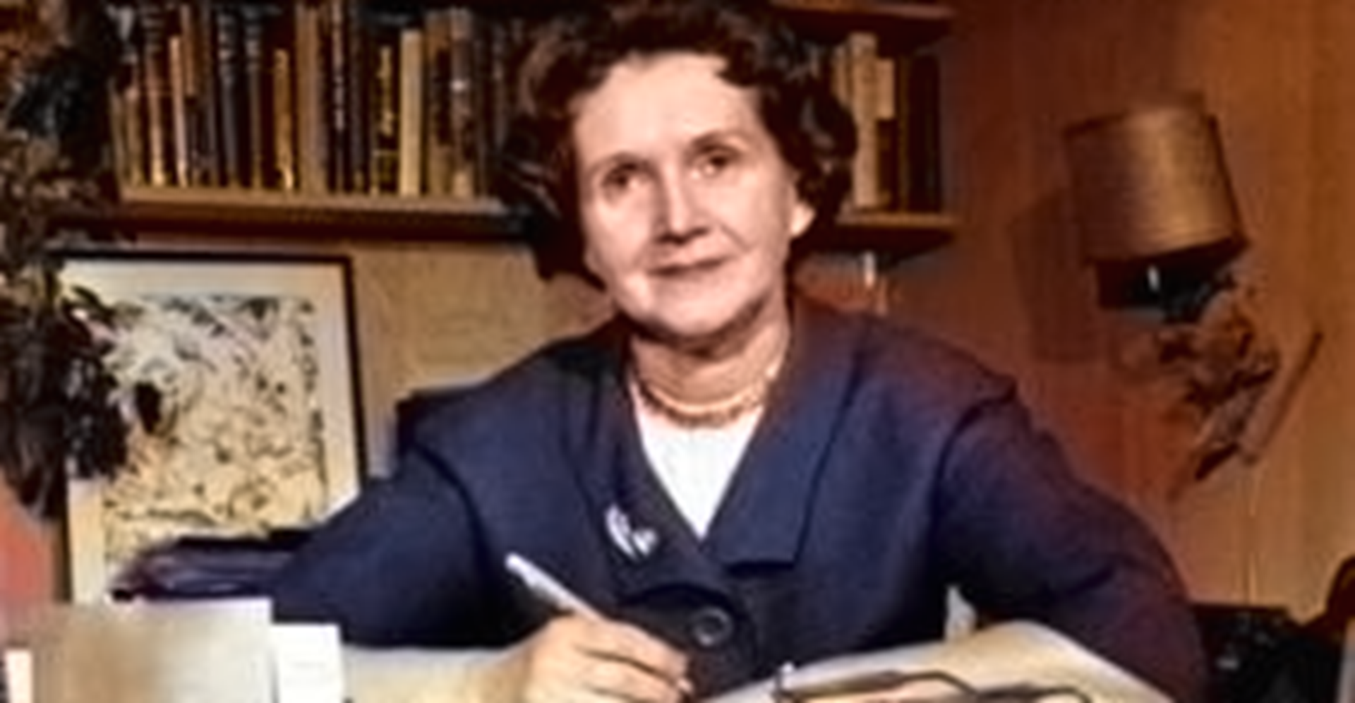 "Photo of Millions Died Thanks to Rachel Carson — ""The Mother of Environmentalism"""