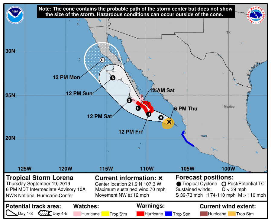 Photo of Is California About To Get Hit By A Hurricane For The Very First Time In U.S. History?