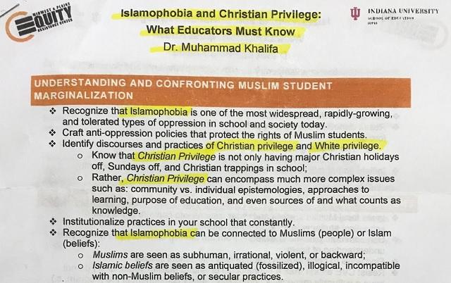 "Minnesota: Muslims Indoctrinating Educators Against ""Islamophobia"" – Attack ""Christian Privilege"""
