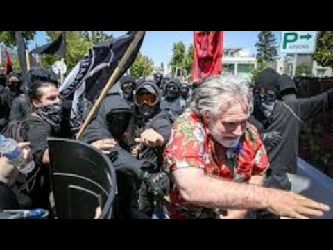 Photo of SHAME on ALL of us! While we WHINE on message boards, liberal punks take to the streets assaulting elderly patriots.