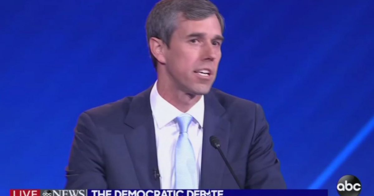 Photo of Watch: Beto at Democrat debate: 'Hell, yes, we're going to take your AR-15'
