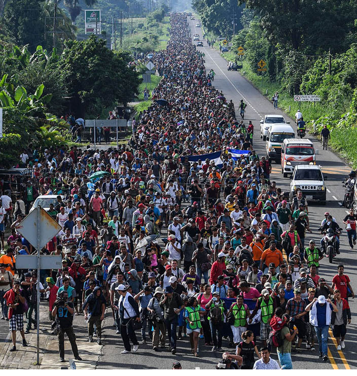 Photo of STARVE OUT the invaders. It's CHEAPER than a wall.