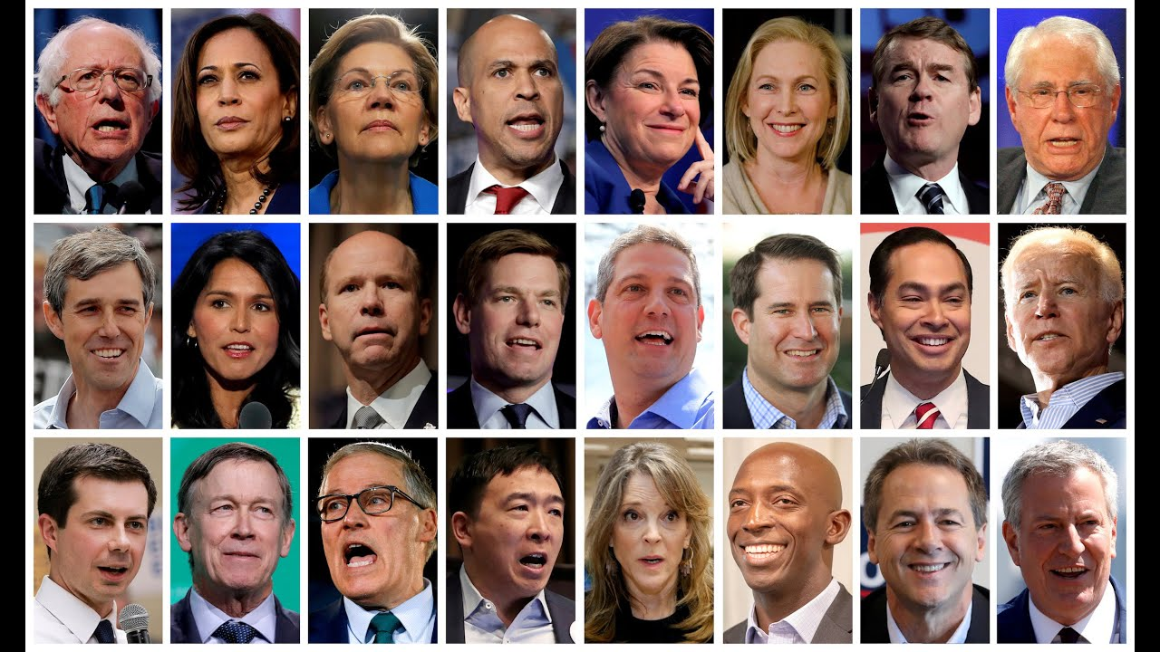 Photo of Presidential Candidates Playing Make-Believe