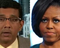 "TRUTH BOMB: Dinesh D'Souza Says Michelle Obama's College Thesis Was ""Illiterate And Incoherent"""