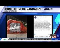 "Vandal Paints ""Jews Did 9/11"" on University of Tennessee Rock. Why Might He Think That?"