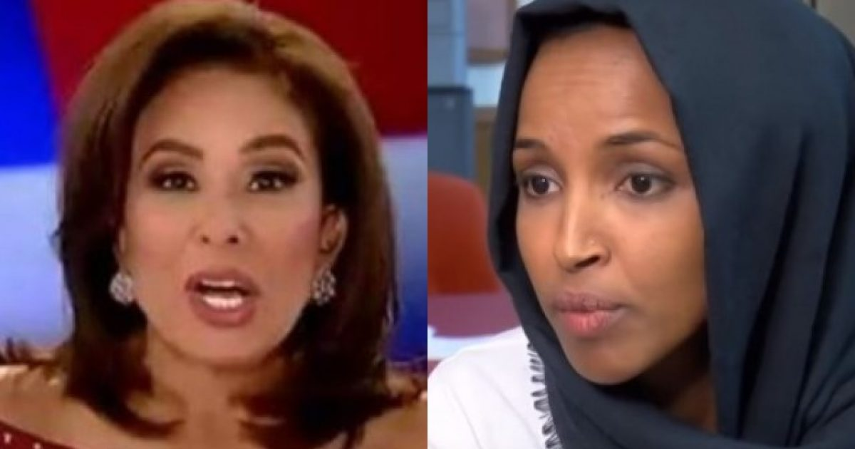 Photo of Judge Jeanine Says She May Be Fired For What She Said About Ilhan Omar