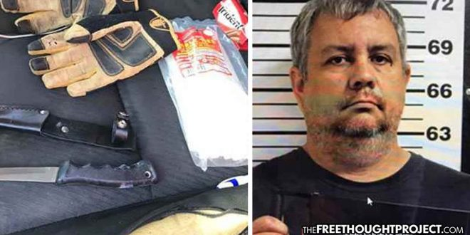 Oklahoma Cop Arrested With Gloves, Knife, and Zip Ties While On His Way to Meet a 14-Year-Old Girl