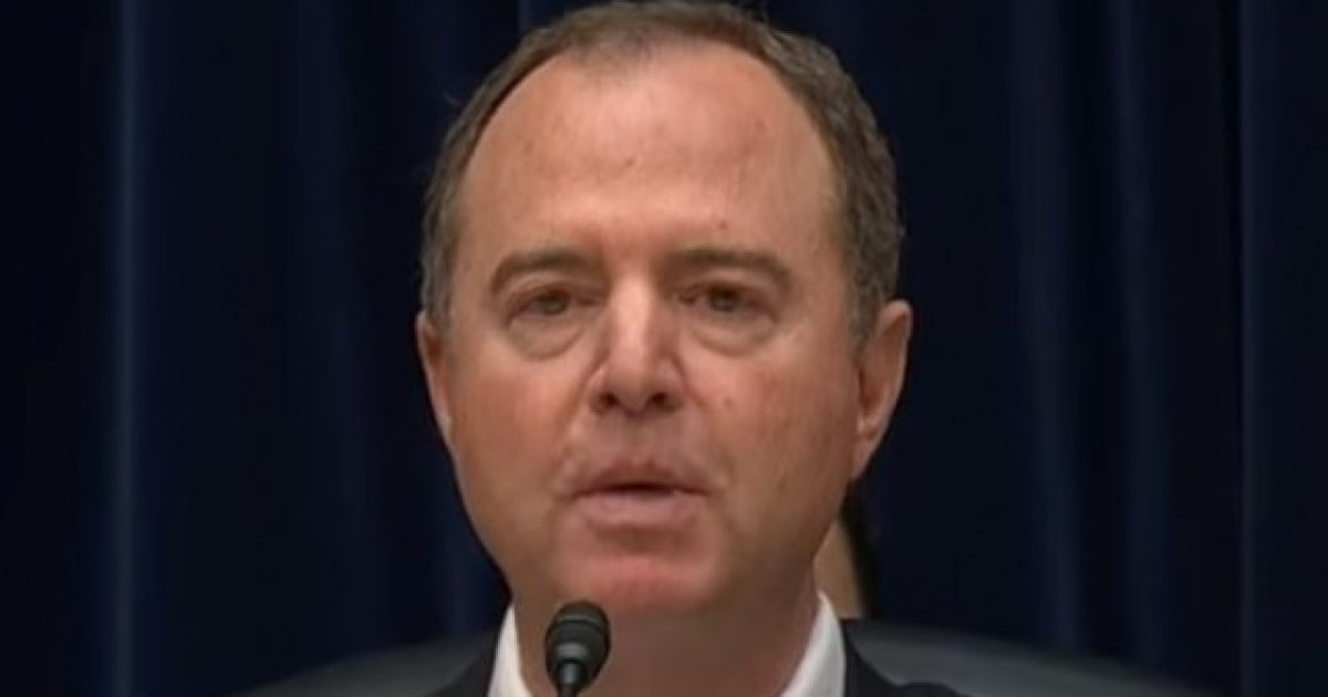 Photo of Adam Schiff Makes Up Entire Conversation With Trump That Never Happened
