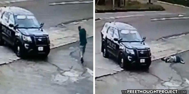 Photo of Disturbing Video Shows Cop Kill Man From His Police SUV, Like a Drive-By Shooting