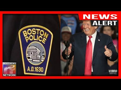 Photo of ALERT: Boston Police TROLL Antifa Crowd at Straight Pride Parade – What They Did Will Make You PROUD