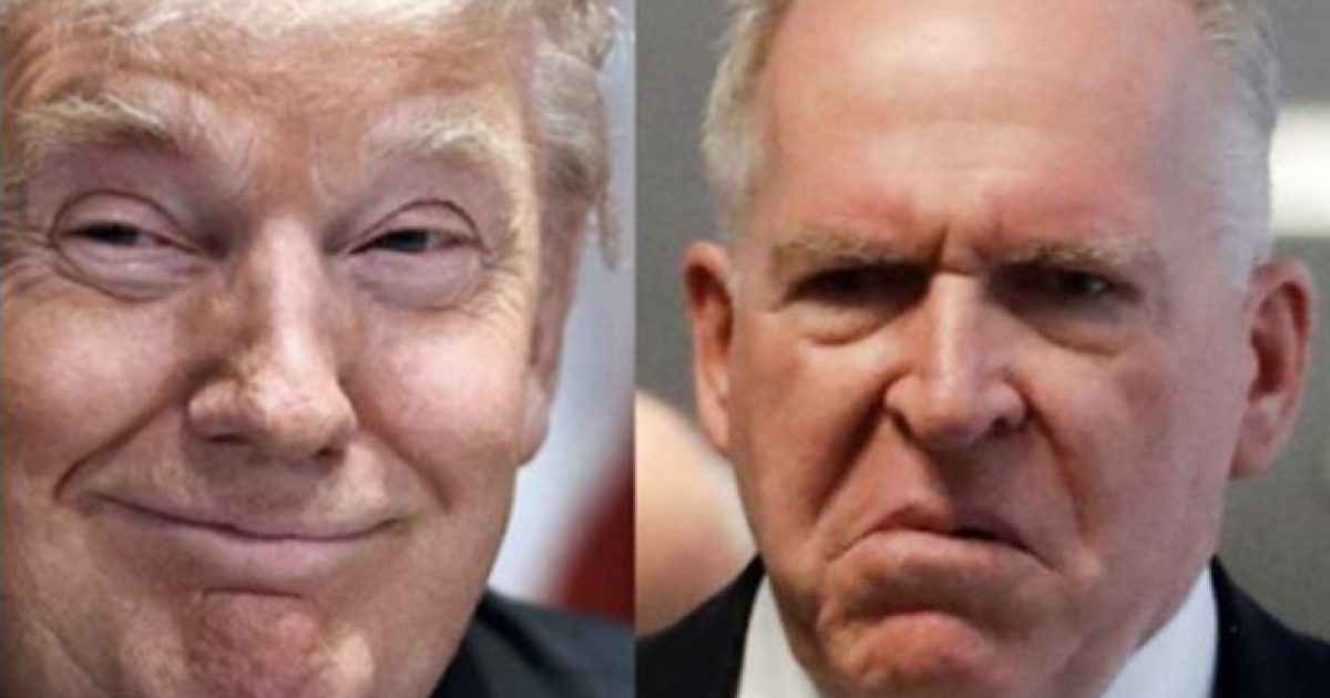 Photo of Fearing Trump's Hammer, Desperate John Brennan Begs for More Whistleblowers to Come Forward