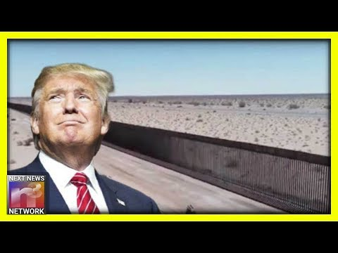 Photo of Trump Unveils Another New Section of The Wall – And it is GLORIOUS!